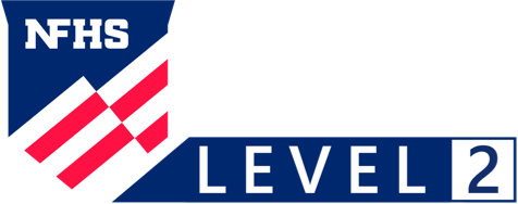 Music logo level two white
